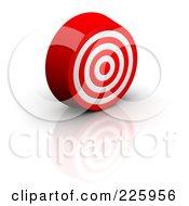 3d Bullseye Slightly Facing Right