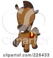 Cute Horse Prancing