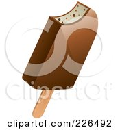 Chocolate Coated Popsicle
