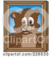 Bear Cub School Mascot Portrait