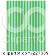 Green And Blue Vertical Striped Pattern Background by Andy Nortnik