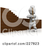 Royalty free stock illustrations of brick walls by kj for Wood floor knocking block