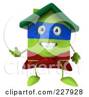 3d Green Clay Super Home Gesturing