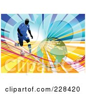 Soccer Football Background 4 by leonid