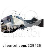 Trucking Grunge Website Header 4 by leonid