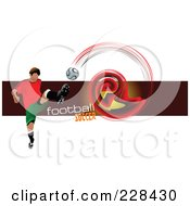 Soccer Football Background 6 by leonid