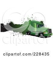 Trucking Grunge Website Header 2 by leonid