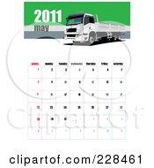 May 2011 Big Rig Calendar by leonid
