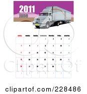 June 2011 Big Rig Calendar by leonid
