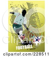 Soccer Man Background by leonid