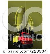 Big Rig Background 6 by leonid