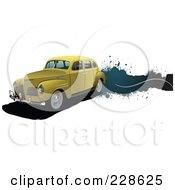 Vintage Car Grunge Banner - 4