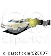 Vintage Car Grunge Banner - 2