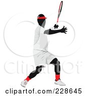 Royalty Free RF Clipart Illustration Of A Tennis Man 14