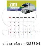 September 2011 Big Rig Calendar by leonid