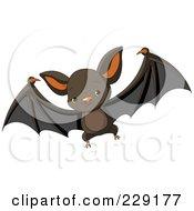 Cute Baby Vampire Bat