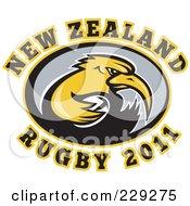 New Zealand Rugby Kiwi Bird - 4