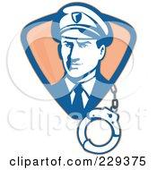 Retro Guard With Cuffs Logo