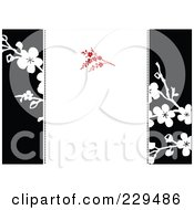 Royalty Free RF Clipart Illustration Of A Blossom Invitation Background 2