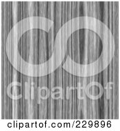 Royalty Free RF Clipart Illustration Of A Grayscale Wood Grain Pattern Background
