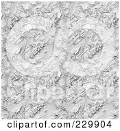 Royalty Free RF Clipart Illustration Of A Background Of White Stucco Pattern
