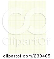 Royalty Free RF Clipart Illustration Of A Background Of Green Graph Paper