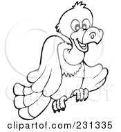 Coloring Page Outline Of A Vulture