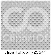 Clipart Illustration Of A Chrome Textured Background