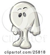 White Konkee Character