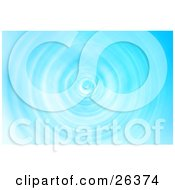 Clipart Illustration Of A Background Of Rippling Blue Water Twisting Downwards