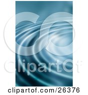 Clipart Illustration Of A Background Of Bright Light On Rippling Blue Water