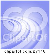 Clipart Illustration Of A Pastel Purple Background Of Rippling Circles
