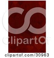 Clipart Illustration Of A Background Of Heart Silhouettes On A Red Stone Textured Background