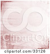 Clipart Illustration Of A Grunge Background Of Bold And Faded Text Grunge Marks And Scratches