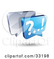 Silver And Blue Live Chat Messenger Windows