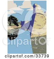 Clipart Illustration Of The Castillo De San Marcos In St Augustine Florida