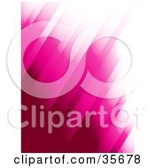 Gradient Pink And White Diagonal Background Of Columns by elaineitalia