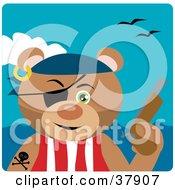 Pistil Bearing Teddy Bear Pirate