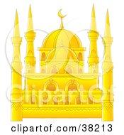 Beautiful Golden Mosque