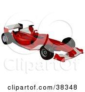 Red And White Ferrari F2004
