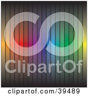 Rainbow Colored Bar Background