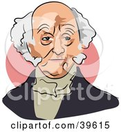 Clipart Illustration Of American President Martin Van Buren