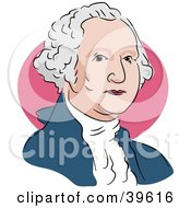 Clipart Illustration Of American President George Washington by Prawny