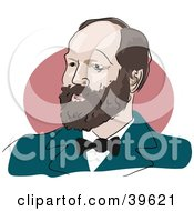 Clipart Illustration Of American President James Garfield by Prawny