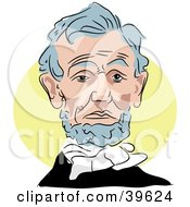 Clipart Illustration Of American President Abraham Lincoln by Prawny