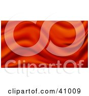 Clipart Illustration Of A Background Of Red Wavy Satin