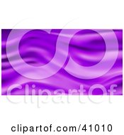 Clipart Illustration Of A Background Of Purple Wavy Silk