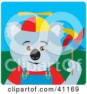 Clipart Illustration Of A Koala Bear Kid Character