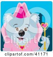 Clipart Illustration Of A Koala Bear Princess Character