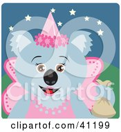 Koala Bear Fairy Princess Halloween Character